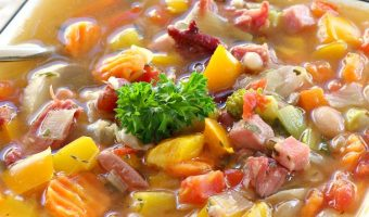 15 Bean Soup with Veggies