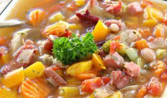 15 Bean Soup with Veggies
