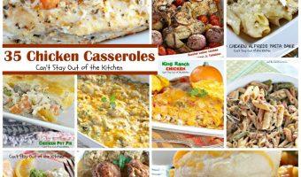 35 Chicken Casseroles