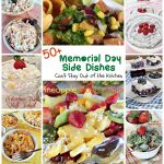 50+ Memorial Day Side Dishes | Can't Stay Out of the Kitchen | great #sidedishes, #salads and #appetizers for #MemorialDay parties!