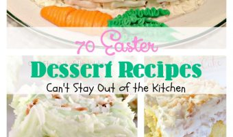 70 Easter Dessert Recipes