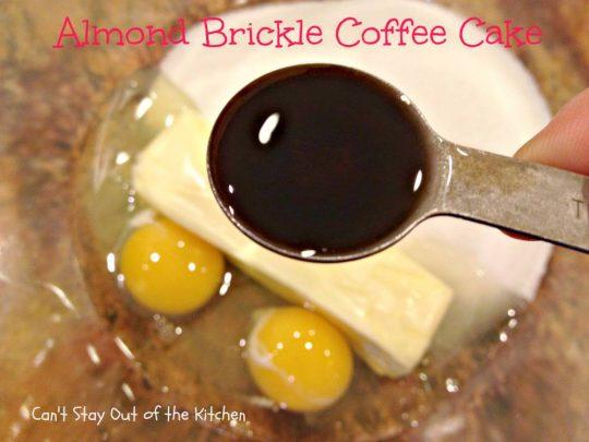 Butter Brickle Coffee Cake Recipe