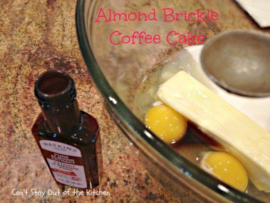 Almond Brickle Coffee Cake - IMG_1062