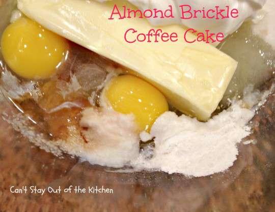 Almond Brickle Coffee Cake - IMG_1063