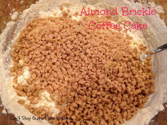 Almond Brickle Coffee Cake - IMG_1066