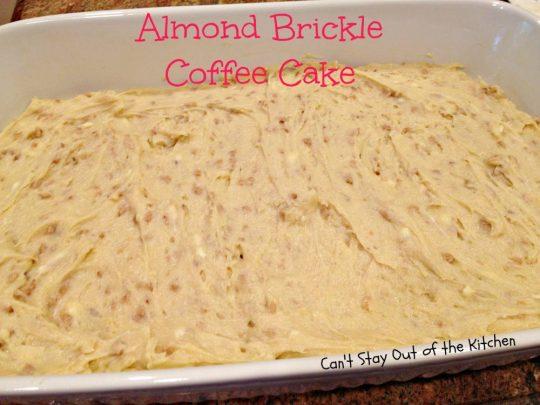 Almond Brickle Coffee Cake - IMG_1074