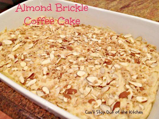 Almond Brickle Coffee Cake - IMG_1077