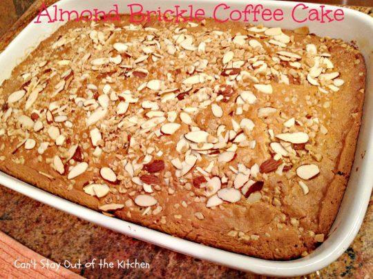 Almond Brickle Coffee Cake - IMG_1081
