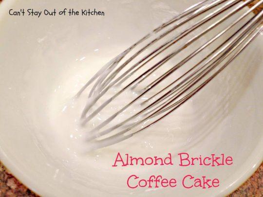 Almond Brickle Coffee Cake - IMG_1216