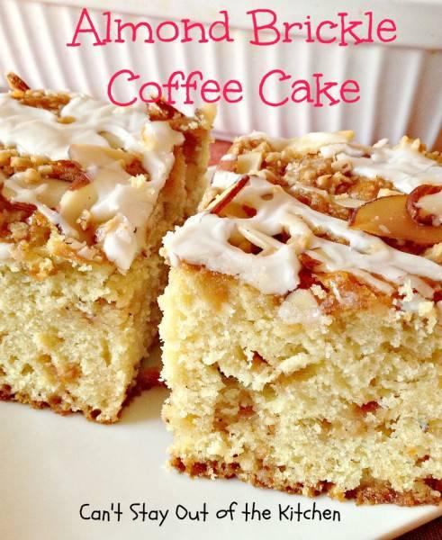 Almond Brickle Coffee Cake - IMG_1267