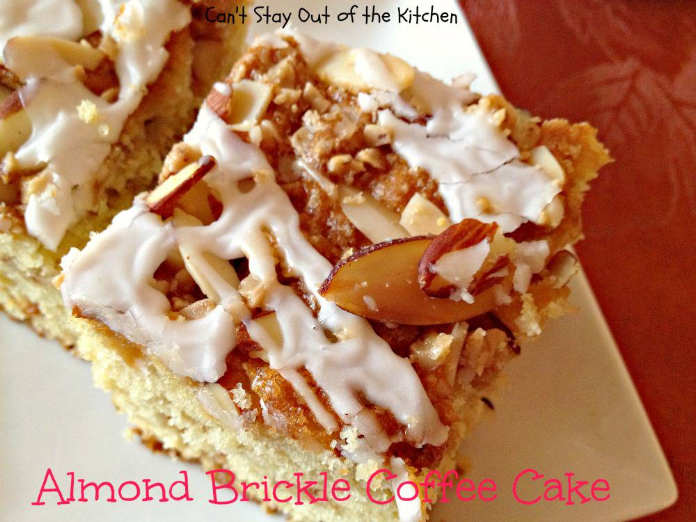Almond Brickle Coffee Cake