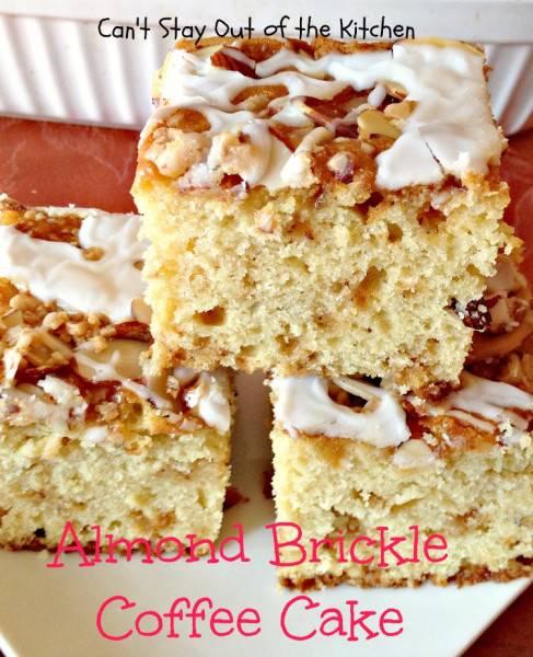 Almond Brickle Coffee Cake - IMG_1283