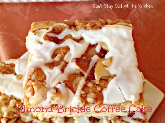Almond Brickle Coffee Cake - IMG_1290