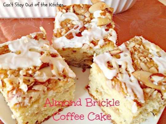 Almond Brickle Coffee Cake - IMG_1295