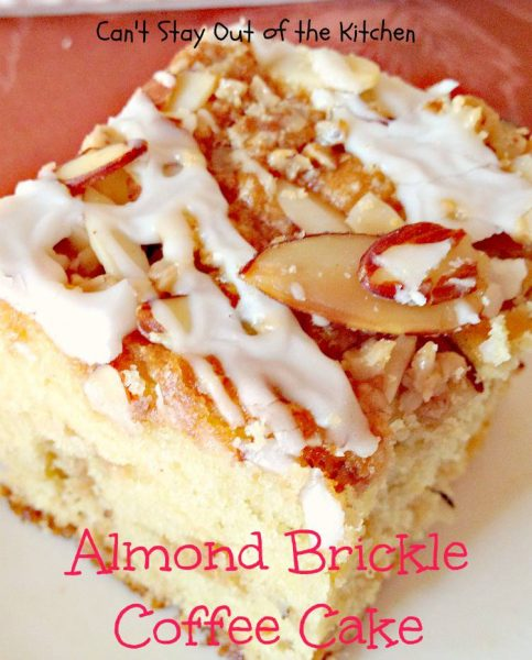 Almond Brickle Coffee Cake - IMG_1301
