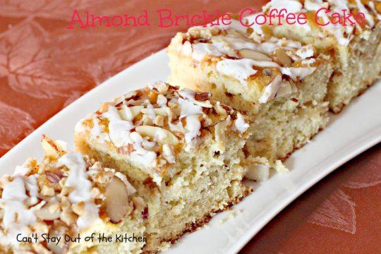 Almond Brickle Coffee Cake - IMG_6987