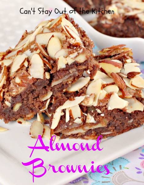 Almond Brownies - IMG_1248