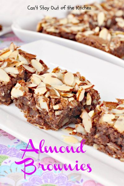 Almond Brownies - IMG_1254