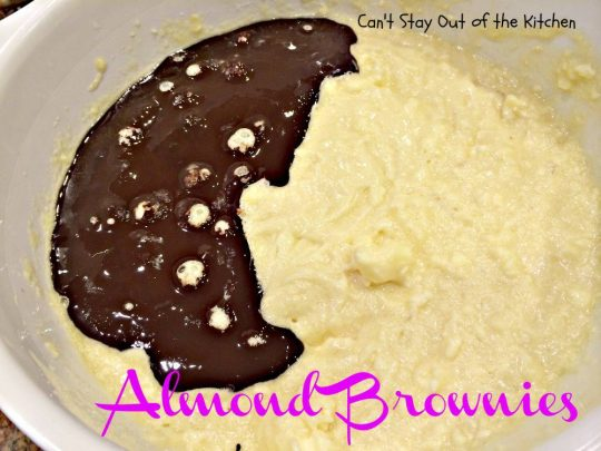 Almond Brownies - IMG_5565