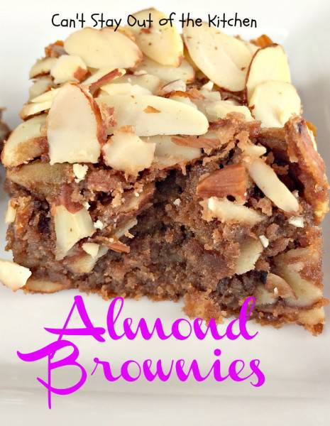 Almond Brownies - IMG_5635