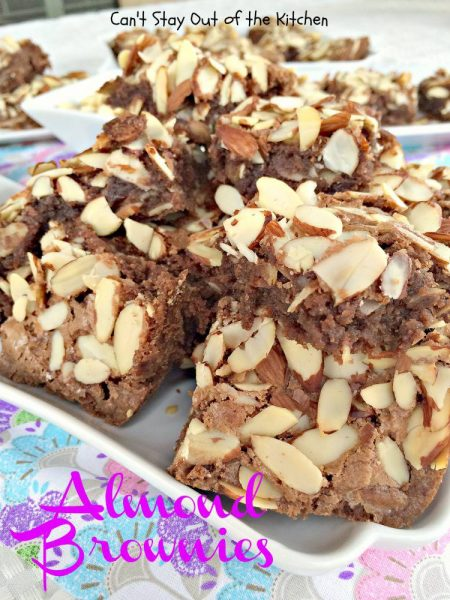 Almond Brownies - IMG_5646