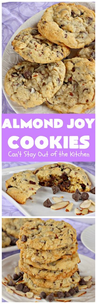 Almond Joy Cookies | Can't Stay Out of the Kitchen