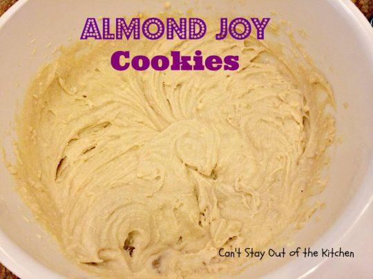 Almond Joy Cookies - IMG_5508