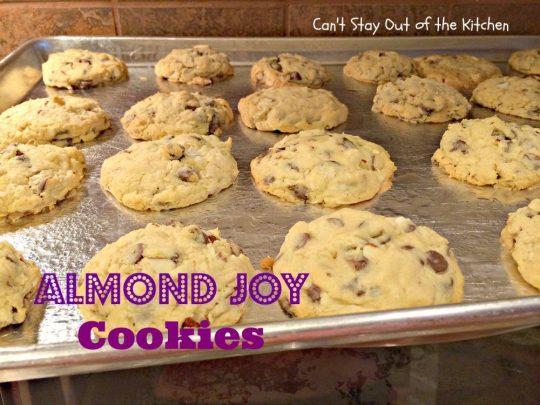 Almond Joy Cookies - IMG_5511