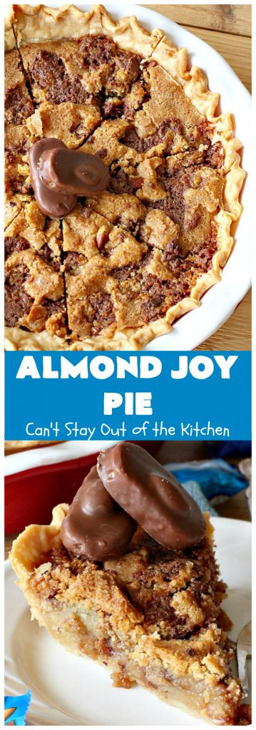 Almond Joy Pie | Can't Stay Out of the Kitchen