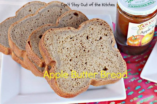 Apple Butter Bread - IMG_0480