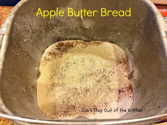 Apple Butter Bread - IMG_4396