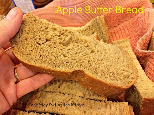 Apple Butter Bread - IMG_4558