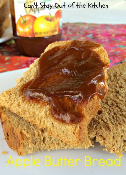 Apple Butter Bread - IMG_4606