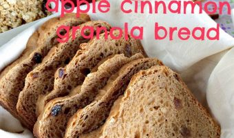 Apple Cinnamon Granola Bread