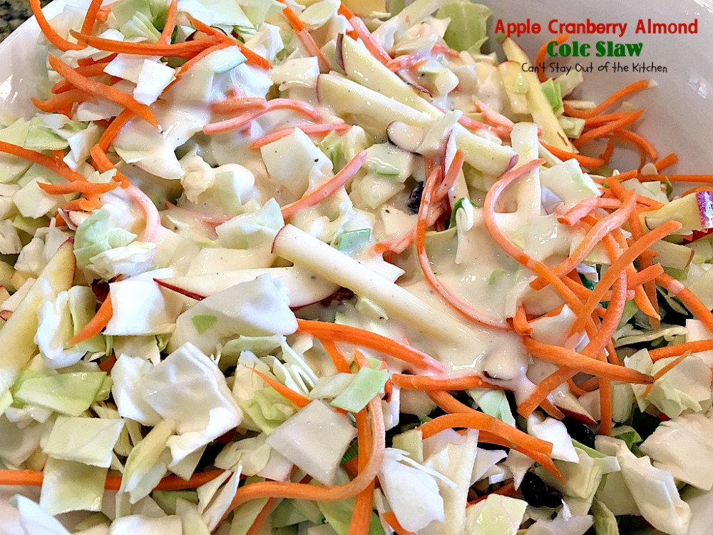 Tangy Cranberry Almond Coleslaw Recipes — Dishmaps