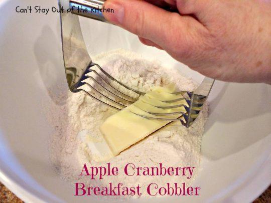 Apple Cranberry Breakfast Cobbler - IMG_6607.jpg