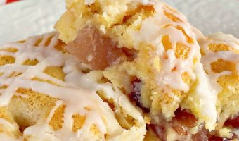 Apple Cranberry Breakfast Cobbler