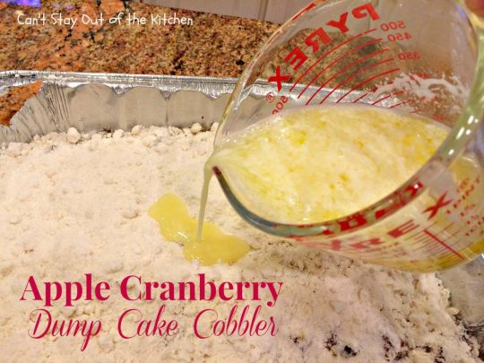 Apple Cranberry Dump Cake Cobbler - IMG_1071