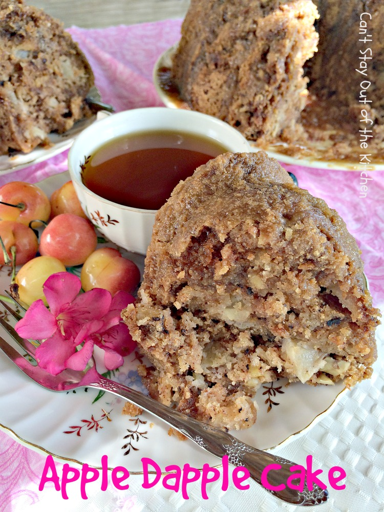 Apple Cake - Can't Stay Out of the Kitchen
