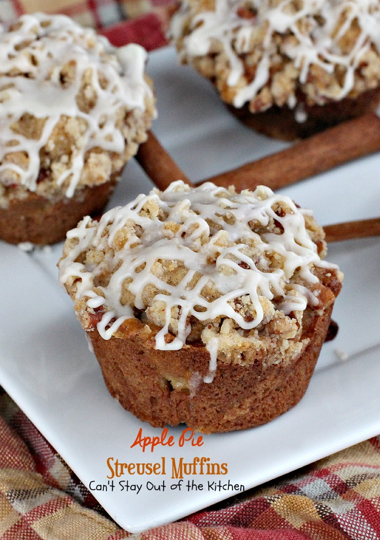 Sour Cream Cinnamon Streusel Muffins With Pecan Filling Recipe ...