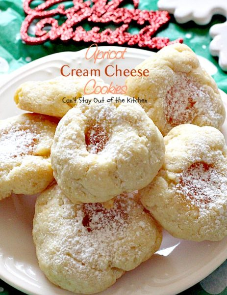 Apricot Cream Cheese Cookies are also nice to s hare with your kid's ...