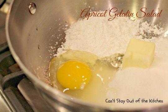 Apricot Gelatin Salad - IMG_0651