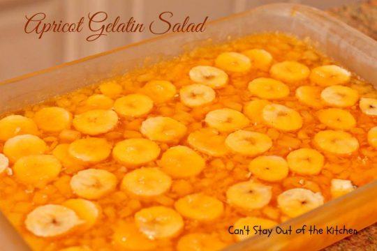 Apricot Gelatin Salad - IMG_0665