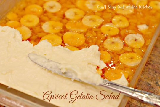 Apricot Gelatin Salad - IMG_0666