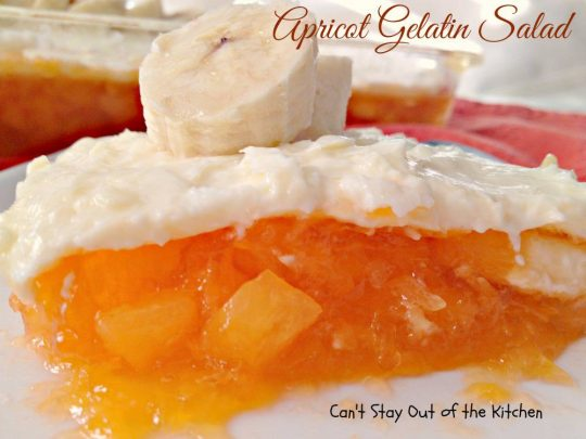 Apricot Gelatin Salad - IMG_5344