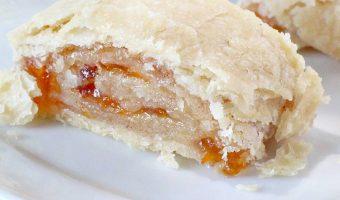 Apricot Pie Crust Cinnamon Rolls