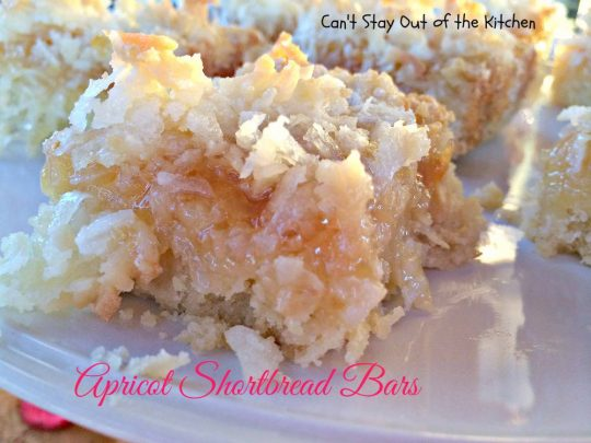 Apricot Shortbread Bars - IMG_2406