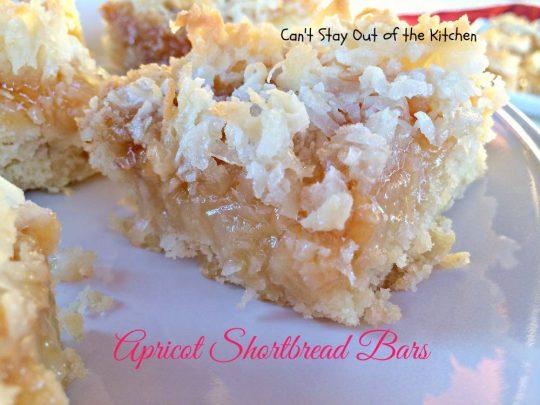 Apricot Shortbread Bars - IMG_2415