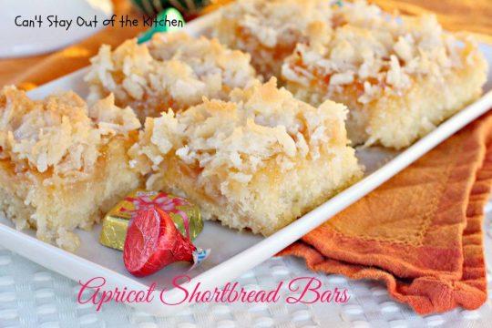 Apricot Shortbread Bars - IMG_8901