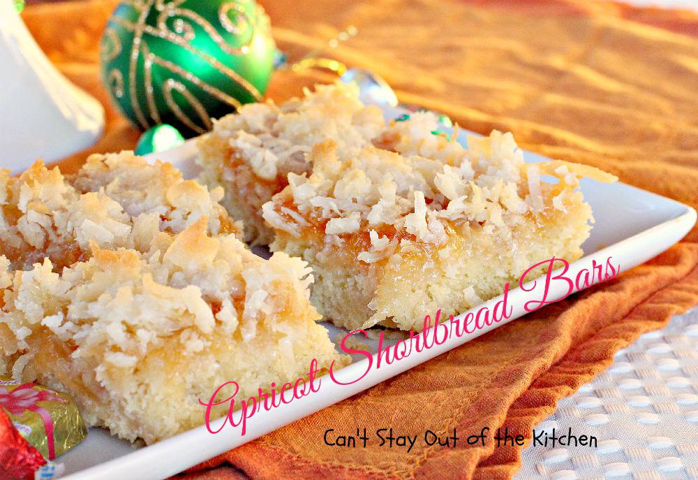 ... you and your family like apricots, you will love these delicious bars